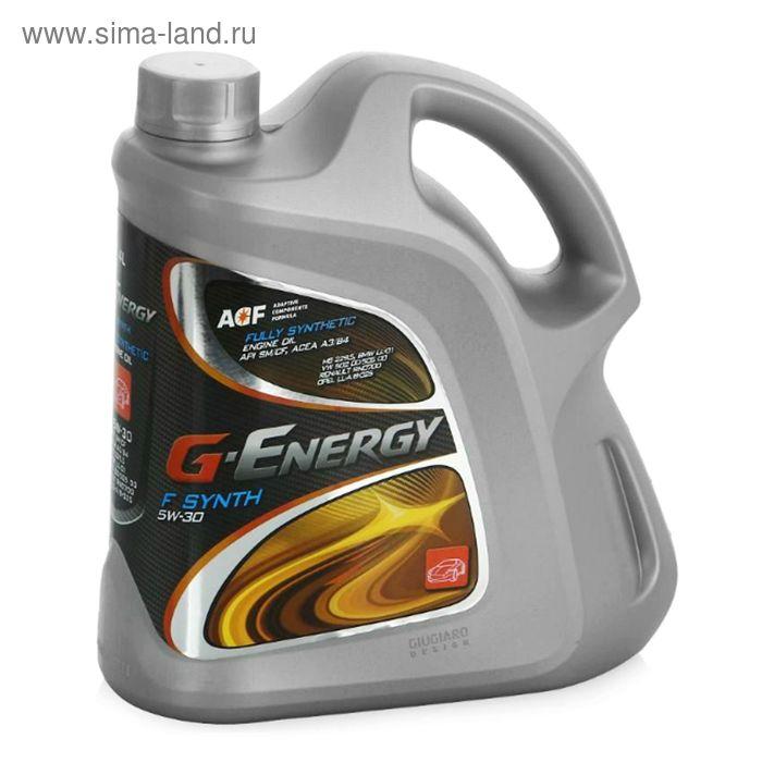 Моторное масло G-Energy F Synth 5W-30, 4 л