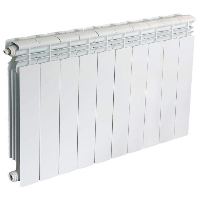 Радиатор алюминиевый Oasis, литой, 350х80, 10 секций