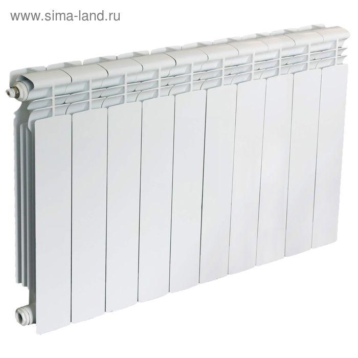 Радиатор Oasis, алюминиевый, литой, 350/80, 10 секций
