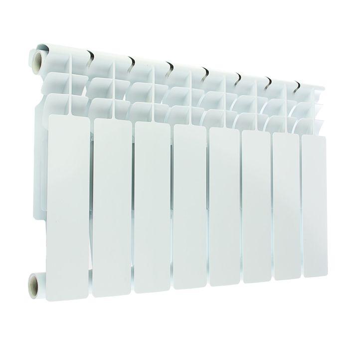 Радиатор алюминиевый Oasis, литой, 350х80, 8 секций