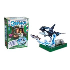 Электронный 3D-конструктор «Морской кит»
