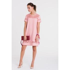 Платье, размер 44, рост 164 см, цвет розовый (арт. 4772а)