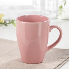"""Кружка 280 мл """"Пастель"""", цвет розовый"""