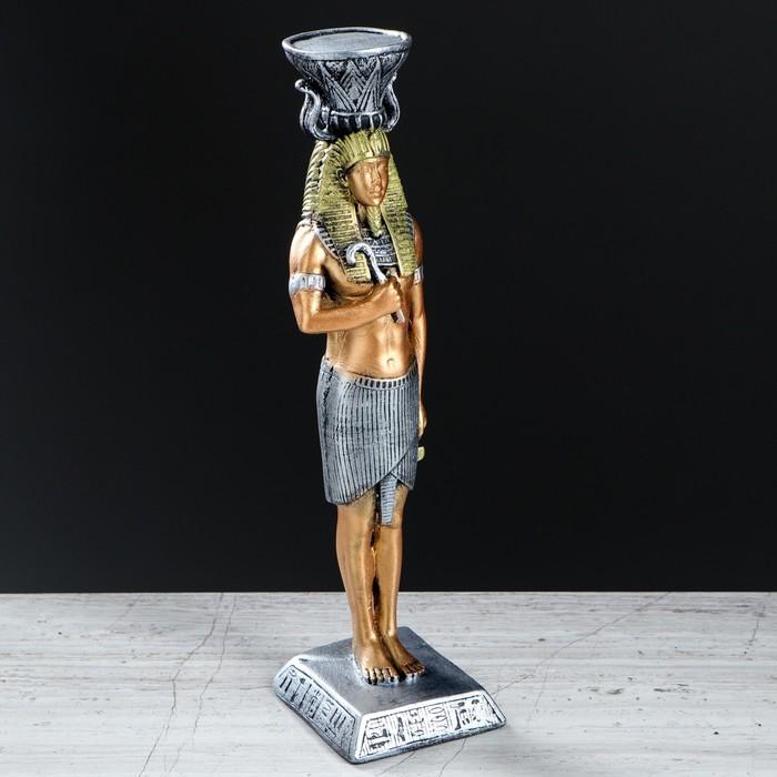 """Подсвечник """"Фараон"""", разноцветный, 30 см - фото 7930734"""