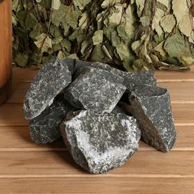 """Камень для бани """"Дунит"""" колотый, коробка 20 кг"""