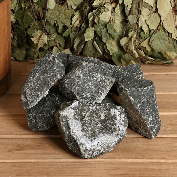 """Камень для бани """"Дунит"""", коробка 20 кг"""
