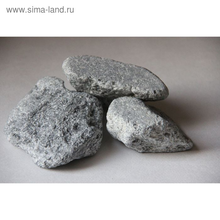 Камень для бани Талькохлорит(обвал), коробка 20 кг
