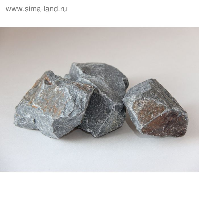 Камень для бани Кварцит, коробка 20кг