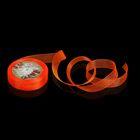 Лента капроновая, 20мм, 20±1м, №23, цвет неоновый оранжевый
