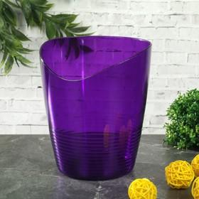 """Кашпо для орхидей 0,8 л """"Mia"""", цвет баклажан"""