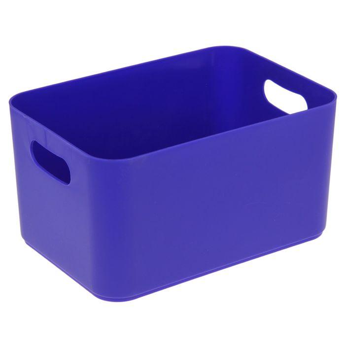 Корзина для хранения 2,3 л Joy, цвет синий