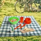Набор для пикника Picnic mini, цвет мандарин