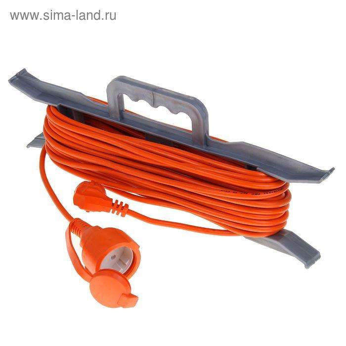 Удлинитель на рамке UNIVersal УШ-10, 20 м, с з/к, ПВС 3х0.75, IP54, розетки с защ. крышкой