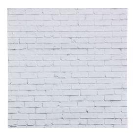 Фотофон «Кирпич белый», 45 × 45 см, переплётный картон, 980 г/м