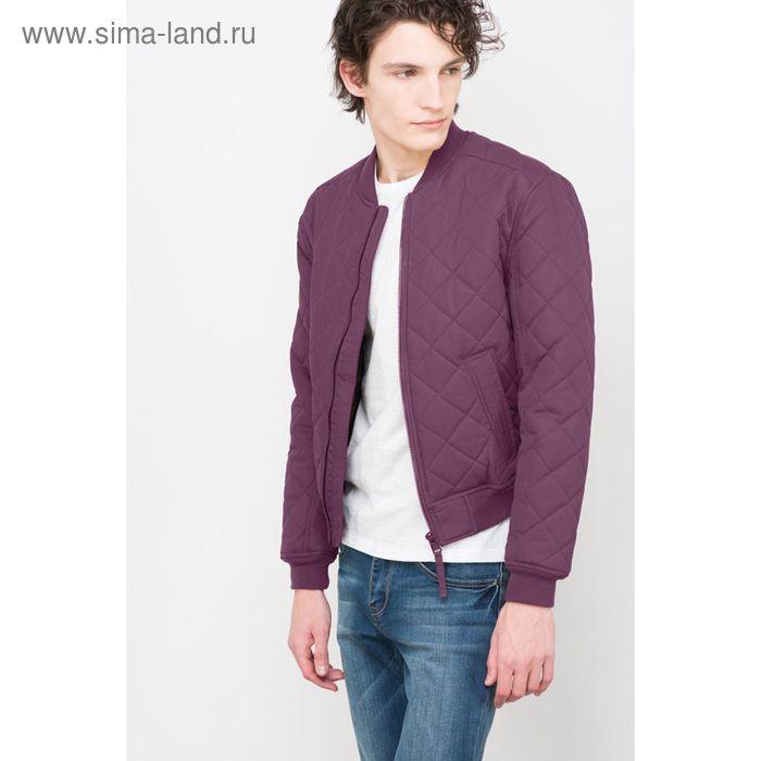 Куртка мужская, цвет фиолетовый, размер 48 (M), рост 176 см (арт. 619000100)