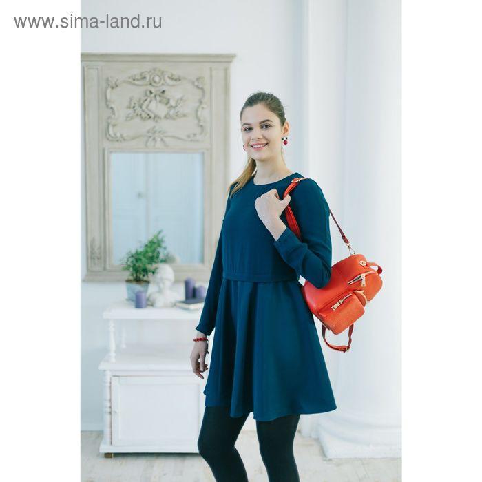 Платье женское, цвет тёмно-синий, размер 44 (S), рост 170 см (арт. 1611090537)