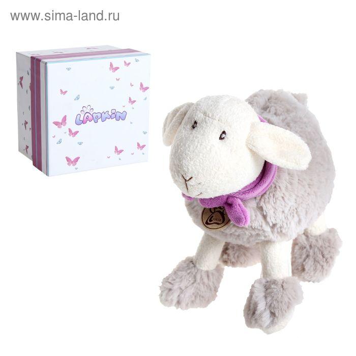 Мягкая игрушка «Овечка», цвет серый