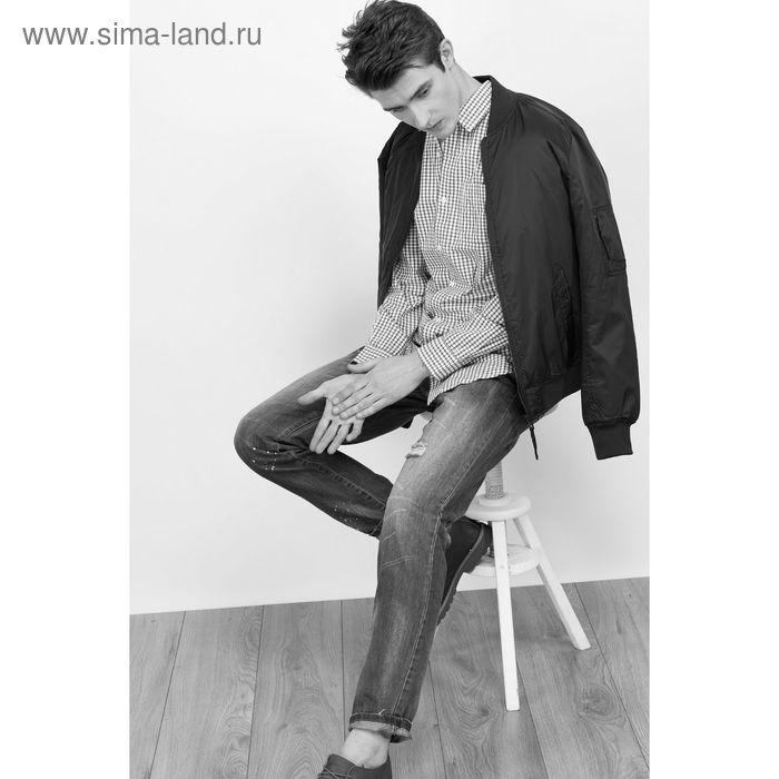 Куртка мужская, цвет тёмно-синий, размер 52-54 (XXL), рост 176 см (арт. 619038104 С+)