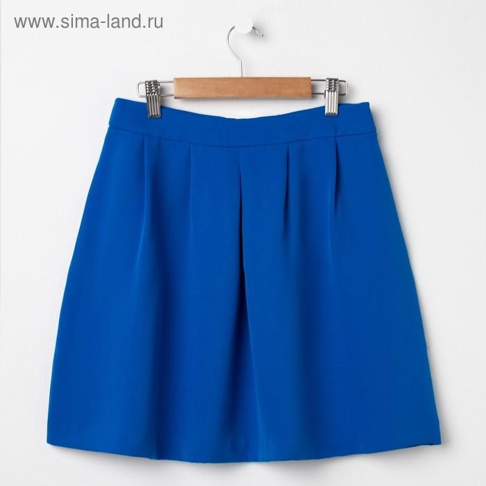 Юбка женская, цвет синий, размер 48 (XL), рост 170 см (арт. 1611349208)