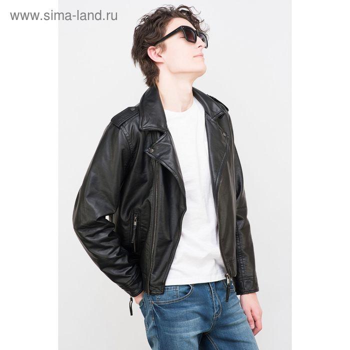 Куртка мужская, цвет чёрный, размер 46 (S), рост 176 см (арт. 619001101)
