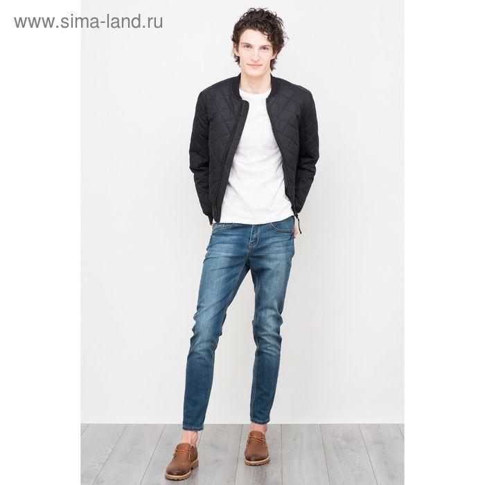 Куртка мужская, цвет чёрный, размер 46 (S), рост 176 см (арт. 619000100)