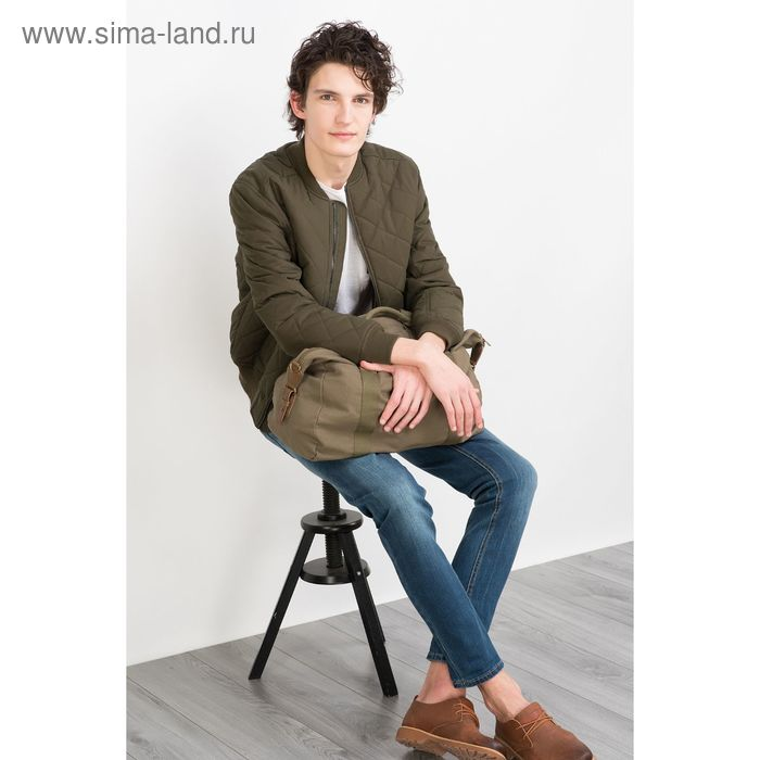 Куртка мужская, цвет хаки/оливковый, размер 48 (M), рост 176 см (арт. 619000100)