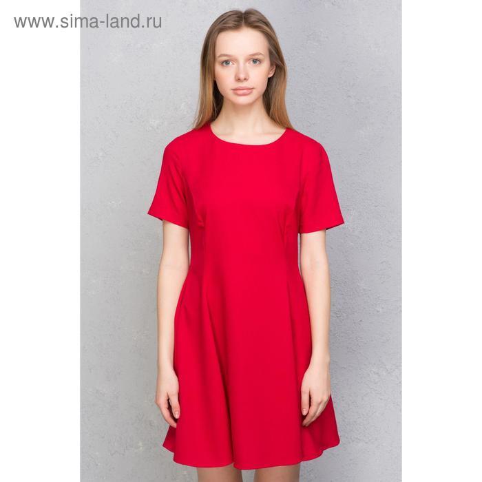 Платье женское, цвет красный, размер 42 (XS), рост 170 см (арт. 1611331500)