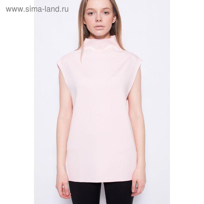 Блузка женская, цвет розовый скин, размер 42 (XS), рост 170 см (арт. 1611364463)