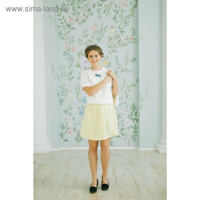 Юбка женская, цвет лайм, размер 44 (S), рост 170 см (арт. 1611349208)