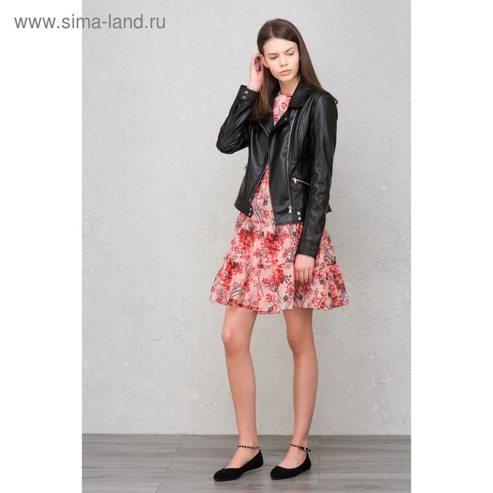 Куртка женская, цвет чёрный, размер 48 (XL), рост 170 см (арт. 1611108108)