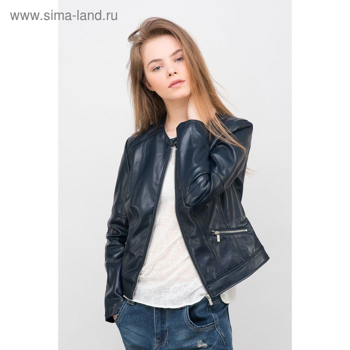 Куртка женская, цвет тёмно-синий, размер 42 (XS), рост 170 см (арт. 1611273119)