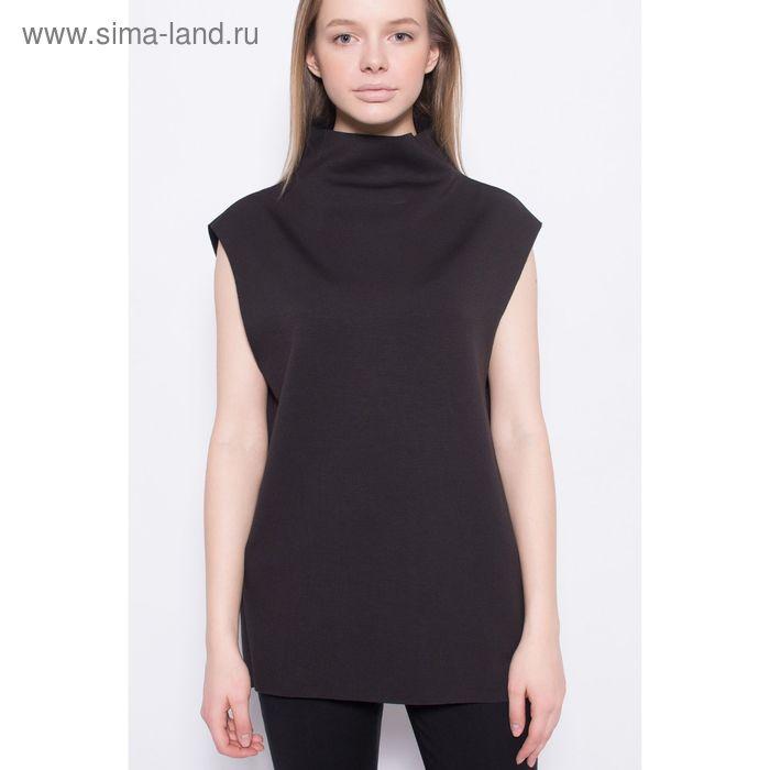 Блузка женская, цвет чёрный, размер 44 (S), рост 170 см (арт. 1611364463)