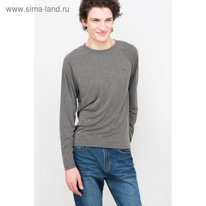 Джемпер мужской, цвет серый меланж, размер 46 (S), рост 176 см (арт. 619016403)