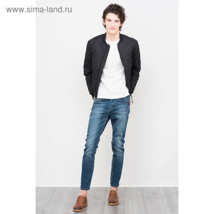 Куртка мужская, цвет чёрный, размер 50 (XL), рост 176 см (арт. 619000100 С+)