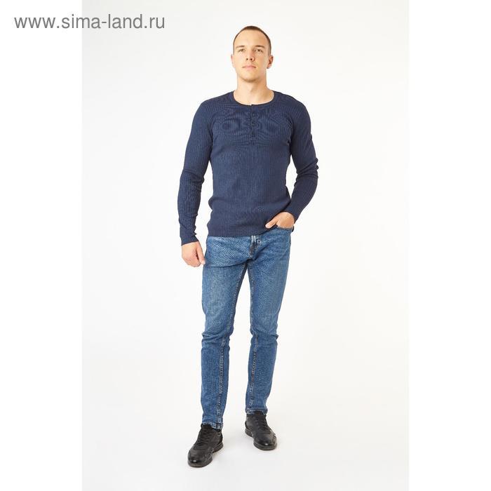 Джемпер мужской, цвет тёмно-синий, размер 48-50 (L), рост 176 см (арт. 619030802)
