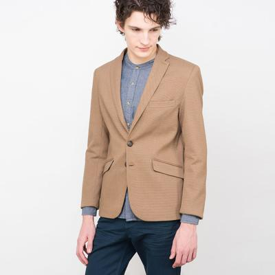 Пиджак мужской, 619020600 С+, цвет бежевый, размер 50 (XL), рост 176 см