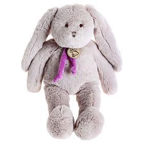 Мягкая игрушка «Заяц», цвет серый