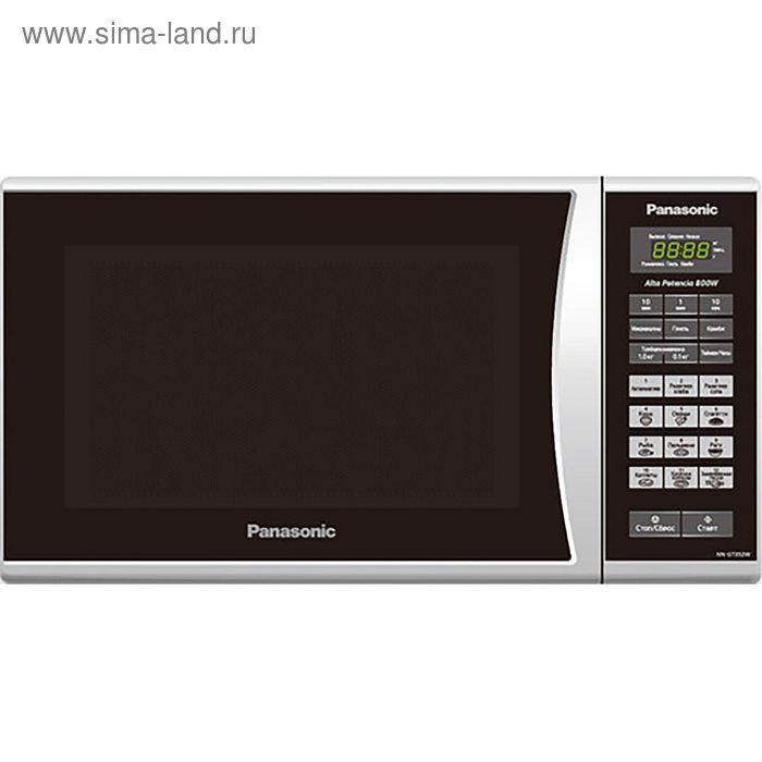 Микроволновая печь Panasonic NN-ST342MZPE, 25 л, 800 Вт, серебристый