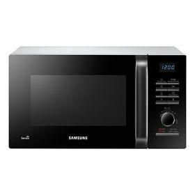 Микроволновая печь Samsung MS23H3115FW, 23 л, 800 Вт, чёрно- белая