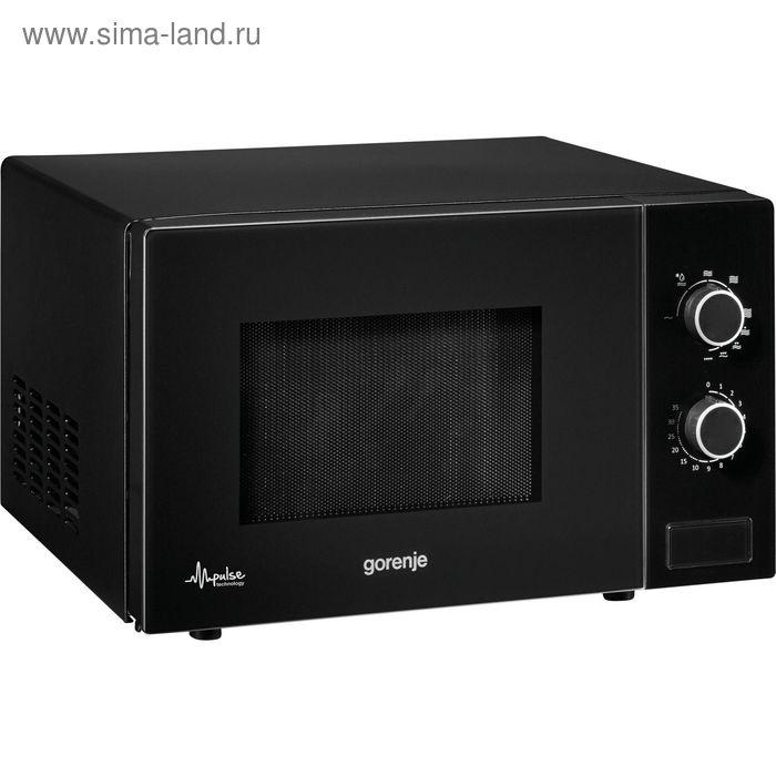 Микроволновая печь Gorenje M021MGB, 20 л, 800 Вт, черный