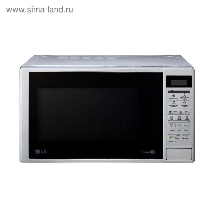 Микроволновая печь LG MB40R42DS, 20 л, 700 Вт, серебристый