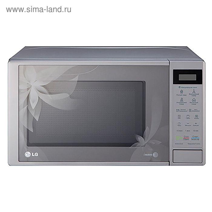 Микроволновая печь LG MH6043DAD, 20 л, 700 Вт, серебристый