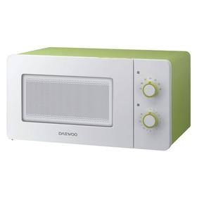 Микроволновая печь Daewoo KOR-5A17, 15 л, 500 Вт, зеленый