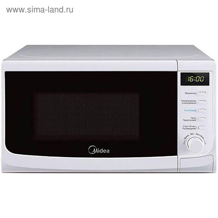 Микроволновая печь Midea AM820CWW-W, 20 л, 800 Вт, белый