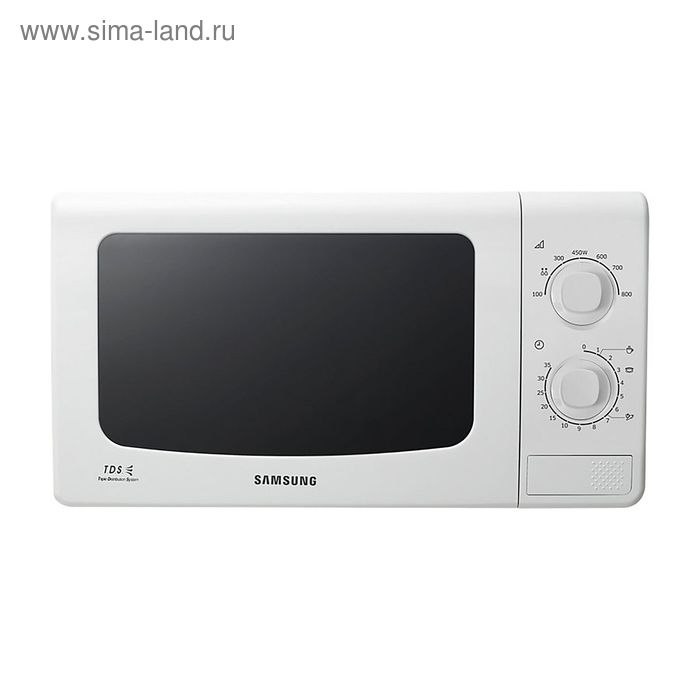 Микроволновая печь Samsung ME81KRW-3, 23 л, 800 Вт, белый