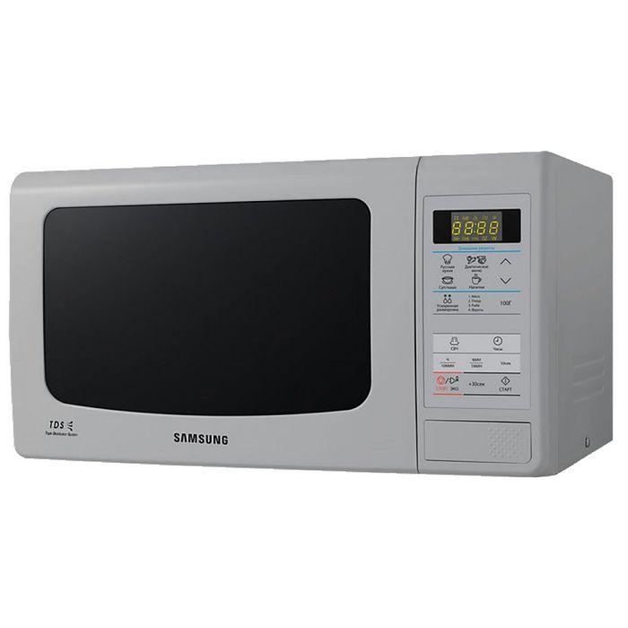 Микроволновая печь Samsung ME83KRS-3, 23 л, 800 Вт, серый