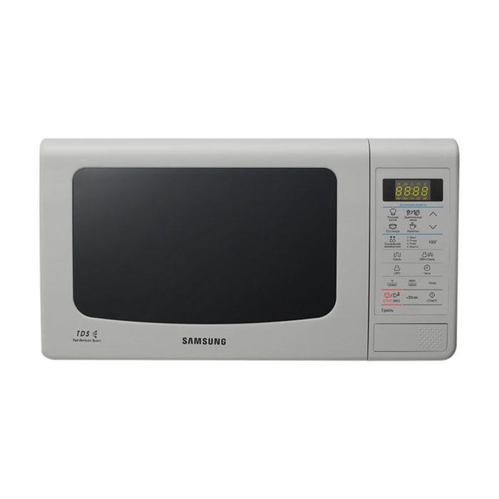 Микроволновая печь Samsung GE83KRS-3, 23 л, 800 Вт, серебристый