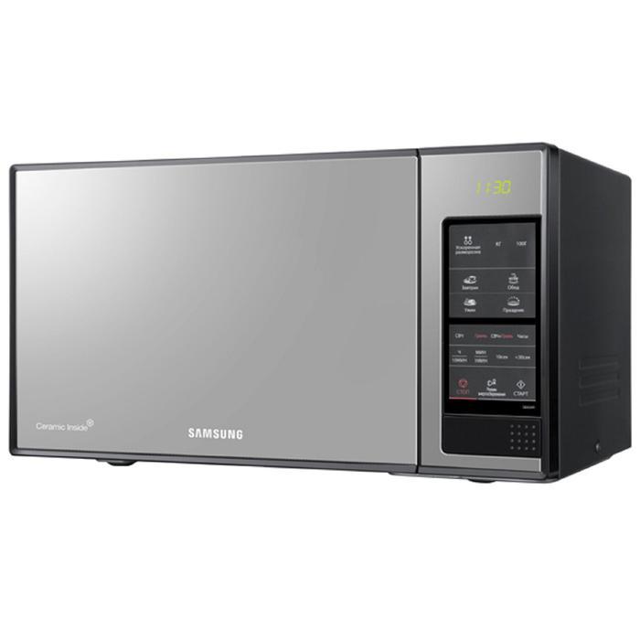 Микроволновая печь Samsung GE83XR, 23 л, 800 Вт, черный