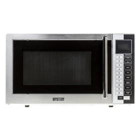 Микроволновая печь Mystery MMW-1718, 17 л, 800 Вт, серебристый