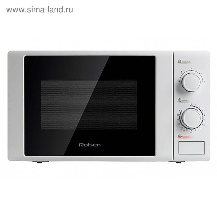 Микроволновая печь Rolsen MS2080MD, 20 л, 700 Вт, белый